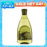 Tinh Dầu Massage Dưỡng Ẩm Toàn Thân Ô Liu Dalan D'Olive Olive Oil Body Oil (250ml)