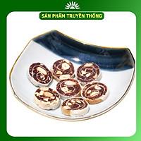 Bánh chuối phồng hạt điều Tư Bông cao cấp 350g - ít ngọt thơm ngon bổ dưỡng chánh gốc Đồng Tháp