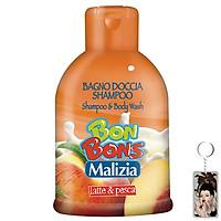 Sữa tắm gội trẻ em Malizia Bon Bons đào và...