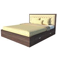 Giường ngủ cao cấp phong cách Bắc Âu - Thương hiệu alala.vn (1m6x2m)