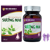 Thực phẩm chức năng Viên uống trắng da thảo dược Sương Mai Học viện quân y Việt nam (60 viên/hộp) và nơ