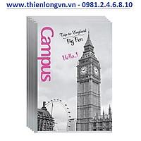 Lốc 5 quyển vở kẻ ngang Landscape 120 trang B5 Campus NNB-BLAS120 Anh