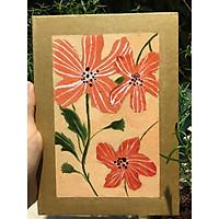 Sổ handmade flower 4
