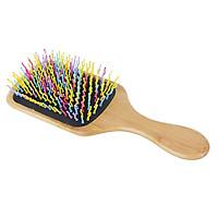 Lược chải tóc bằng gỗ, Lược massage chống tĩnh điện ,Lược massage da đầu