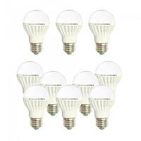 10 Bóng đèn Led 5w tiết kiệm điện sáng vàng nắng Posson LB-E5G