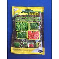 [Có sẵn] Chế phẩm sinh học giải độc hữu cơ, xanh lá, dầy lá – AT Amino Humic 1kg