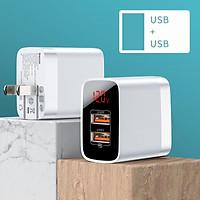 Bộ sạc USB Baseus Quick Charge 3.0 cho điện thoại di động 18W PD3.0 PD QC3.0 QC Bộ sạc nhanh USB loại C