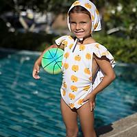 Peachtan Con Xù 1 Mảnh Nữ In Đồ Bơi Nữ Xù Monokini Gợi Cảm Bộ Đồ Tắm Mặc Đi Biển Bơi 2021