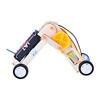 Bộ đồ chơi khoa học tự làm robot tự động con sâu bằng gỗ – DIY Wood Steam đồ chơi gỗ lắp ráp giúp trẻ khéo léo, sáng tạo