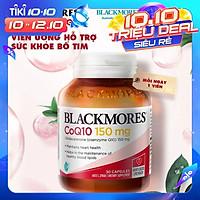 Blackmores CoQ10 150mg 30v - Viên uống hỗ trợ sức khỏe bổ tim Úc