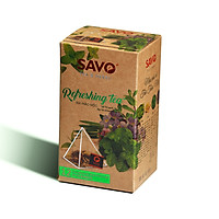 Trà Thảo Mộc SAVO REFRESHING (Refreshing Herbal Tea)