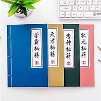 [COMBO 3 Cuốn] Cuốn vở Bí Kíp Võ Công độc đáo - Vở học sinh tạo hình cổ trang Trung Quốc