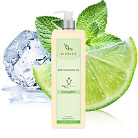 Dầu Massage Body Biyokea - Cooling B013 (Làm mát) - 1000ml