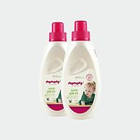 Combo 2 chai nước giặt xả thiên nhiên Mamamy 800ml/chai, an toàn cho trẻ sơ sinh