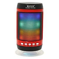 Loa Bluetooth Wster WS-1806 Có Đèn Led - Hàng Chính Hãng