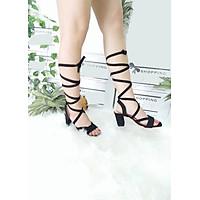 Giày cao gót nữ có dây cột cao 7cm