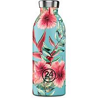 Bình giữ nhiệt chân không 24 Bottles Clima, họa tiết Hoa dâm bụt, dung tích 500ml