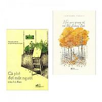 Combo Truyện Đặc Sắc: Cà Phê Đợi Một Người (Tái Bản) + Nơi Em Quay Về Có Tôi Đứng Đợi (Tái Bản) - Tặng kèm bookmark thiết kế Aha