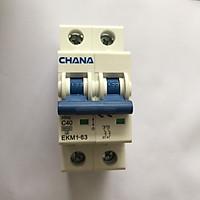 Cầu dao điện hai chiều AC CB Bộ ngắt mạch cho Solar Năng Lượng Mặt Trời GIVASOLAR CHANA AC 400V 40A 80A