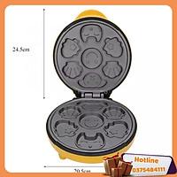 Máy Làm Bánh Nướng Bánh Hình Thú Magic Cao Cấp Tặng Kèm Máy Đánh Trứng Và Đầu Chuyển 3 Chấu Thành 2 Chấu - Hàng Loại 1