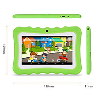 NEW 7 inch Kids Tablet PC 8GB Android Quad Core Tablets Dual Camera Wifi Tab PC with case For Children Learning Education