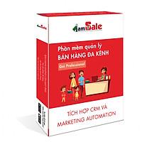 Phần mềm quản lý bán hàng đa kênh iamSale - PROFESSIONAL - 1 năm