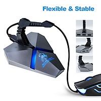 3 Cổng USB2.0 Data Gaming Hub Mouse Bungee USB Hub Splitter TF Card Reader Tốc Độ Cao Có Kẹp Chuột Với USB-CoMbo