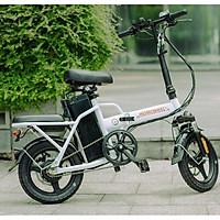 Xe điện thông minh thể thao siêu gấp gọn homesheel FTN T5s phiên bản 15 AH - hàng chính hãng-màu trắng