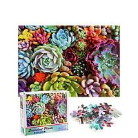 Bộ Tranh Ghép Xếp Hình 1000 Pcs Jigsaw Puzzle (Tranh ghép 70*50cm) Sắc Màu Bản Thú Vị Cao Cấp