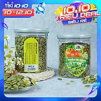 Nhân Hạt Bí Xanh Smile Nuts (265g - 500g)   Nhân bí xanh đã nướng nguyên vị, hàng nhập khẩu 100%