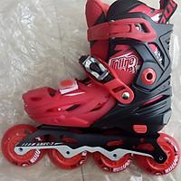 Giày trượt patin trẻ em Cougar 333 hàng chính hãng có thể điều chỉnh size + bánh đèn