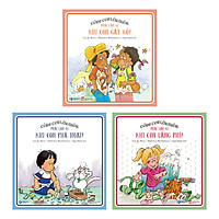 Combo 3 Cuốn Kỹ Năng Sống: Phải Làm Gì Khi Con Phá Hoại Gây Gổ Lãng Phí