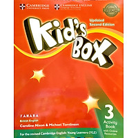 Kid's Box 2nd ed Activity Book with Online Resources Level 3