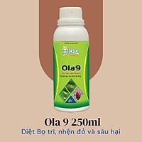 Phân thuốc sinh học trừ bọ trĩ, sâu ăn tạp, sâu xanh da láng- Ola9 250ml