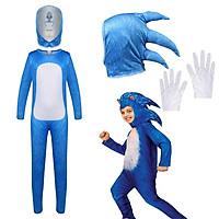 Mới 2021 Trẻ Em Sonic The Hedgehog Trò Chơi Video Anime Cosplay Halloween Carnival Đảng Liền Quần Mặt Nạ Trang Phục Cho Trẻ Em Đầm