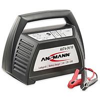 Bộ sạc Acquy đa năng ANSMANN ALCT 6-24V/10, Tặng kèm đèn đeo đầu ANSMANN HD3 - Hàng Nhập Khẩu