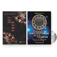 Combo 2 sách: Trung Quốc 247: Góc nhìn bỡ ngỡ (Song ngữ Trung - Việt có Pinyin) + Bí Ẩn 1200 Mật Ngữ Của 12 Chòm Sao (Song Ngữ Trung Việt Có Phiên Âm) + DVD quà tặng