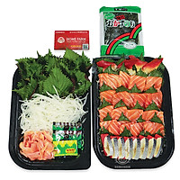 [Chỉ giao HN] - Set sashimi 299 - Đỏ ( 1 hộp)