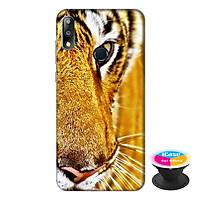 Ốp lưng điện thoại Asus Zenfone Max Pro M2 hình Mắt Hổ tặng kèm giá đỡ điện thoại iCase xinh xắn - Hàng chính hãng