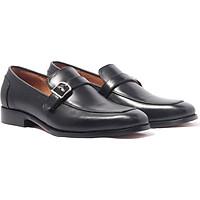 Giày lười, phong cách giày tây công sở Monk Strap Loafer H1ML1M0 da bò Ý, chính hãng Banuli