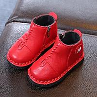 Giày bốt nữ khâu viền , giày thể thao cho bé 20285