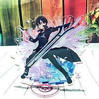 Standee tượng mica trong nhân vật Sword Art Online Kirito mẫu ngẫu nhiên