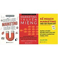 Combo Những Chiến Lược Thu Hút Khách Hàng Hoàn Hảo( Chiến Lược Marketing Hoàn Hảo + Marketing Truyền Miệng + Kế Hoạch Marketing Trên Một - Trang - Giấy ) Tặng BookMark Romantic
