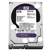 Ổ Cứng HDD Camera WD Purple 6TB/64MB/3.5 IntelliPower - WD60PURZ - Hàng Chính Hãng