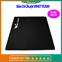 VINETTEAM Miếng lót chuột - Bàn di chuột V1 chơi game Mouse pad hình chữ nhật  21,5 x 17,5 cm  bo viền dày 3 li -4452-  hàng chính hãng