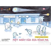 Một ngày của gia đình ma - Tranh truyện Ehon kích thích khả năng quan sát cho trẻ từ 3-6 tuổi.