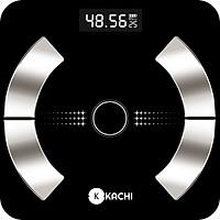 Cân điện tử bluetooth phân tích chỉ số cơ thể Kachi MK223 - Màu đen - Hàng chính hãng
