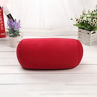Soft Micro Beads Bed Roll Cushion Neck Head Leg Back Support Light Travel Column Pillow
