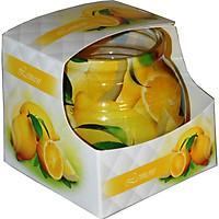 Ly nến thơm tinh dầu Admit Lemon 85g QT04540 - hương chanh tươi