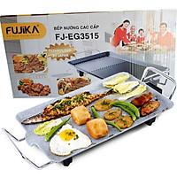 Bếp Nướng Điện Fujika FJ-EG3515 Công Suất 1350W Vân Đá Chống Dính Công Nghệ Nhật Bản-Hàng Chính Hãng